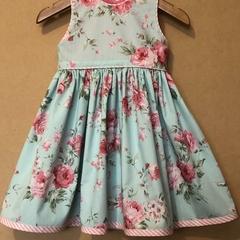 Pretty Pink Floral Dress - Sizes 1 & 3