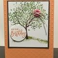 Happy Birthday Handmade Card - FREE POST