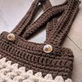 Crochet Newborn Photo Prop Set