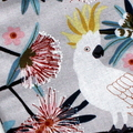 Padded Sunglasses Pouch in Gorgeous Cockatoo Fabric