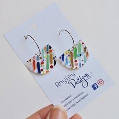 Rainbow Rain  Earrings