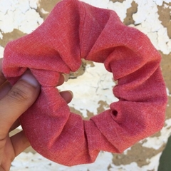 *Upcycled Cinque Terre Scrunchie