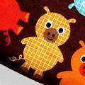 Small Coin Purse in Cute Piggy Fabric