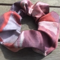 *Upcycled Limited Edition Coral Scrunchie