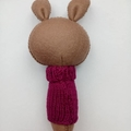 Bunny Rattle Purple Jumper