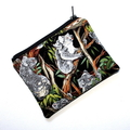 Small Coin Purse in Gorgeous Koala Fabric
