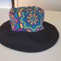 Two tone Boho ladies (or kids) Bucket hat