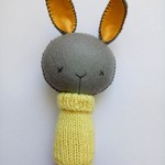 Bunny Rattle Yellow Jumper
