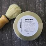 BARE MAN Organic Shaving Soap kit