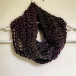Mulberry Short Infinity Scarf