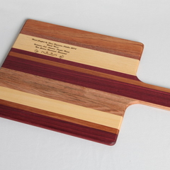 Side Grain Serving Paddle Board (Small)