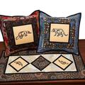 Australiana cushion cover -Tasmanian Devil