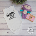 Smart Little Dude Baby Bodysuit, #babylife, Mama's Miracle, Sassy Since Birth