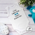 Viking in Training, Little Monkey, Trouble, Current Mama's boy- Baby Bodysuit