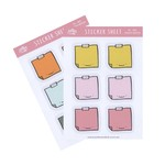 STICKY NOTES PLANNER STICKERS