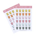 CHANGE TOWELS PLANNER STICKERS