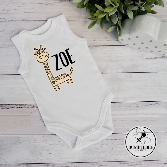 My Name is Zoe Everyone Hi Personalized Name Baby Romper
