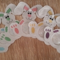 """Purple"" Easter Egg Bunny"