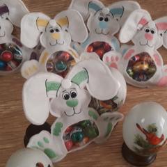 """""""Green"""" Easter Egg Bunny"""