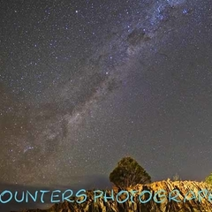 Milky Way Over Lake George, NSW (A2)