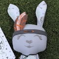 OOAK Tribal Easter Bunny from our Limited Edition Collection