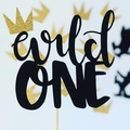 Where the wild things are - birthday party - cake topper - wild one