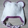 Crochet Beanie - 12-24 months