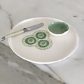 Decorative Plate with small Bowl