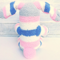 'Bonnie' the Sock Bunny - *READY TO POST*