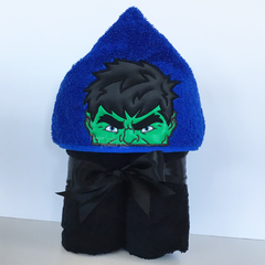 Hulk Hooded Towel