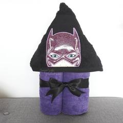 Bat Lady Hooded Towel