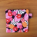 Pineapple Print Coin Purse