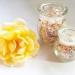 Rose and Amber Bath Salts (Small)