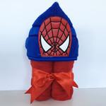 Web Man Hooded Towel