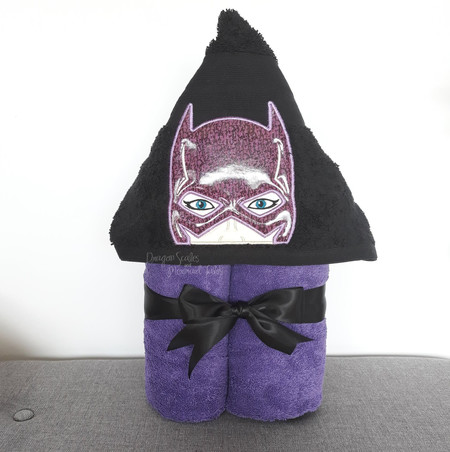 Bat Lady Hooded Towel