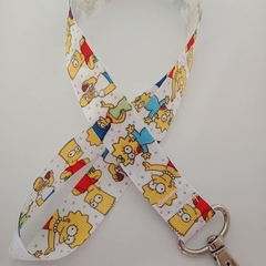 The Simpsons lanyard / ID holder / badge holder