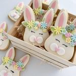 Boho Bunnies Cookies