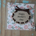 Mother's Day Card ~ Happy Mother's Day ~ Card for Mum ~ Ready to Post
