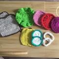 Crocheted sandwich