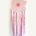 Large Dream Catcher, Pinks, Multicolour