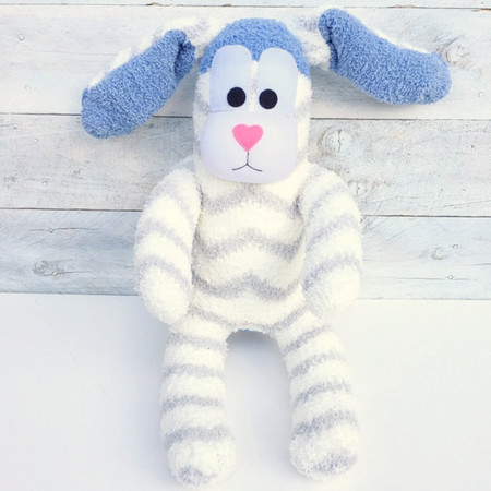 'Benny' the Sock Bunny - Easter - *READY TO POST*