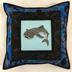 Australiana cushion cover - Whale Shark