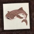 Australiana cushion cover - Whale Shark