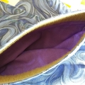 Handy Bags-blue swirl print