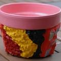 Mosaic Flower Pots - Planter pots - Pink