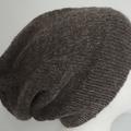 Unisex adult hand knit slouchy/beanie Australian Alpaca 100% Page 1/3