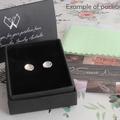 Silver Dragonfly Stud Earrings- Handmade Dragonfly Earrings