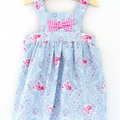 Girls Pinny Dress Baby 6 Months | 00