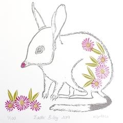 Easter Bilby / Australian Animal / Australian Wildlife / Linoc