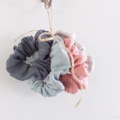 4 LINEN - Hair Srunchies - New Season Colours